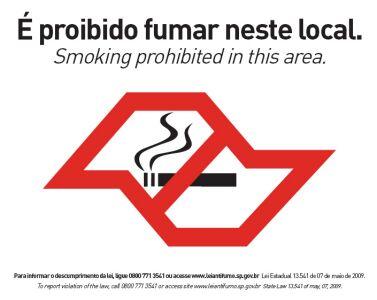 Falta de respiração quando deixado fumando